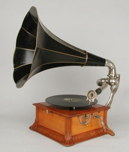 Phonographe / Pathé 1906 - Model D