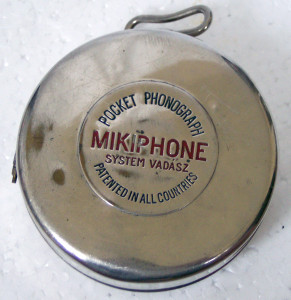 Mikiphone - Pocket Phonograph