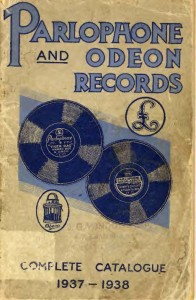 Parlophone Odeon 1937-1938