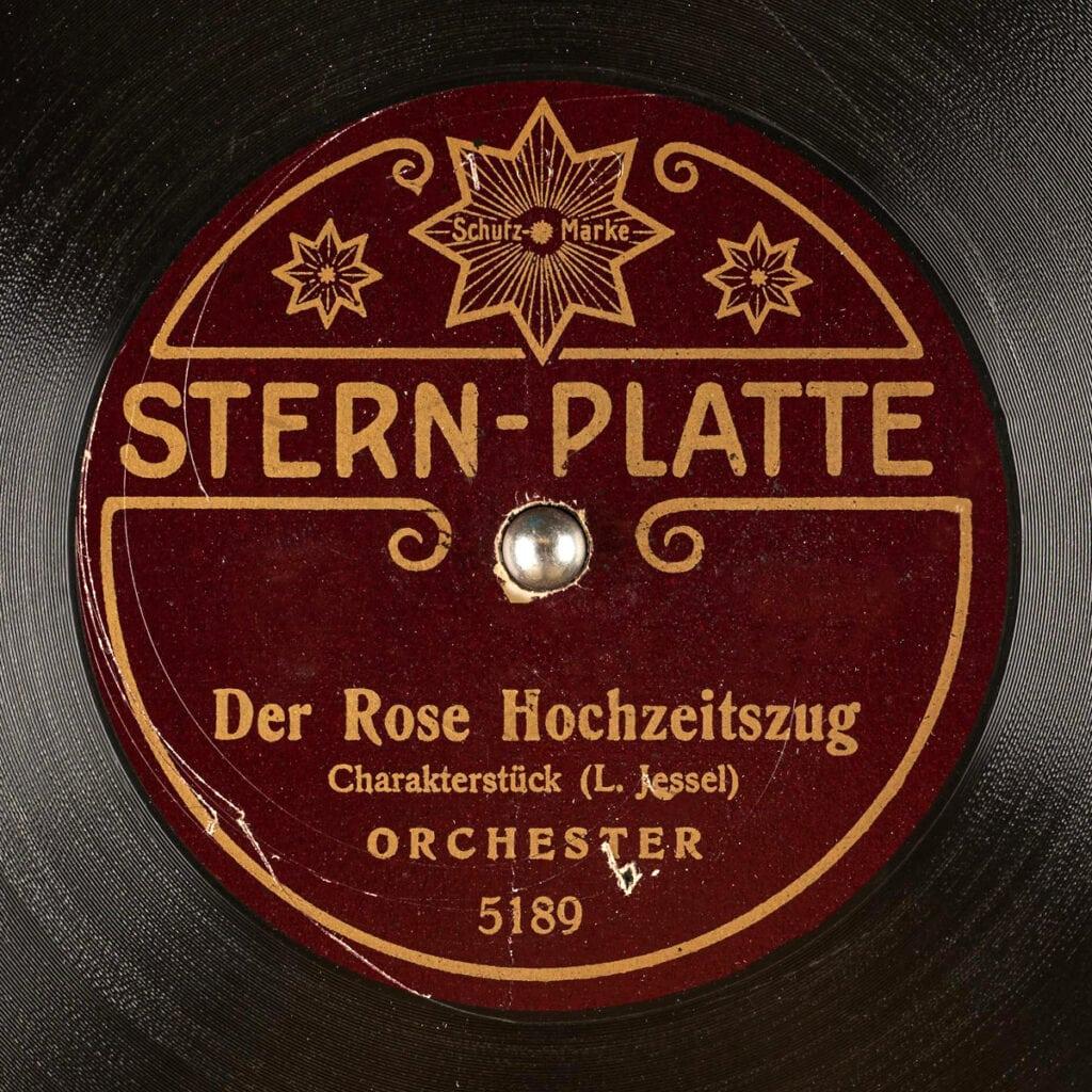 STERN-PLATTE
