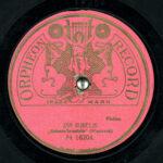 ORPHEON RECORD