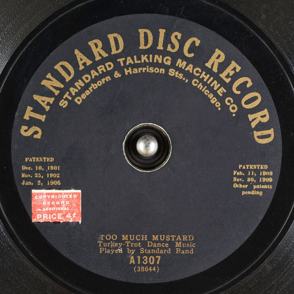 STANDARD DISC RECORD