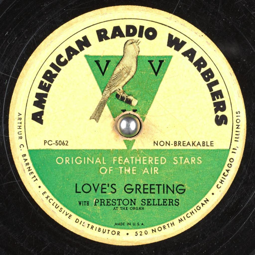 American Radio Warblers
