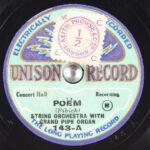 UNISON RECORD